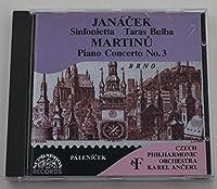 Janacek;Sinfonietta/Martinu;Pi
