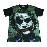 ジョーカー ヒースレジャー ダークナイト 映画 人気 ストリート系 デザインTシャツ おもしろTシャツ メンズTシャツ 半袖 [並行輸入品]
