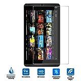 NVIDIA SHIELD Tablet K1強化ガラスフィルム Vikoo NVIDIA K1タブレット 採用0.33mm 0.25D 硬度9H ラウンドエッジ加工 防指紋、撥油性 ..