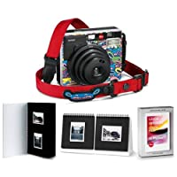 Leica Sofort Instant CameraLimoLand by Jean Pigozzi - Bundle With Sofort Color Film Pack Sofort Photo Album Sofort Photo Presenter
