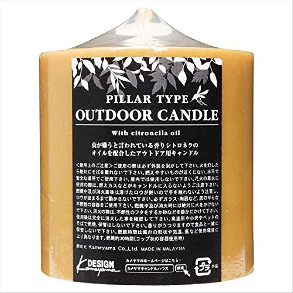 妊娠したラダ優しさカメヤマキャンドル( kameyama candle ) アウトドアキャンドルシトロネラ 714Z