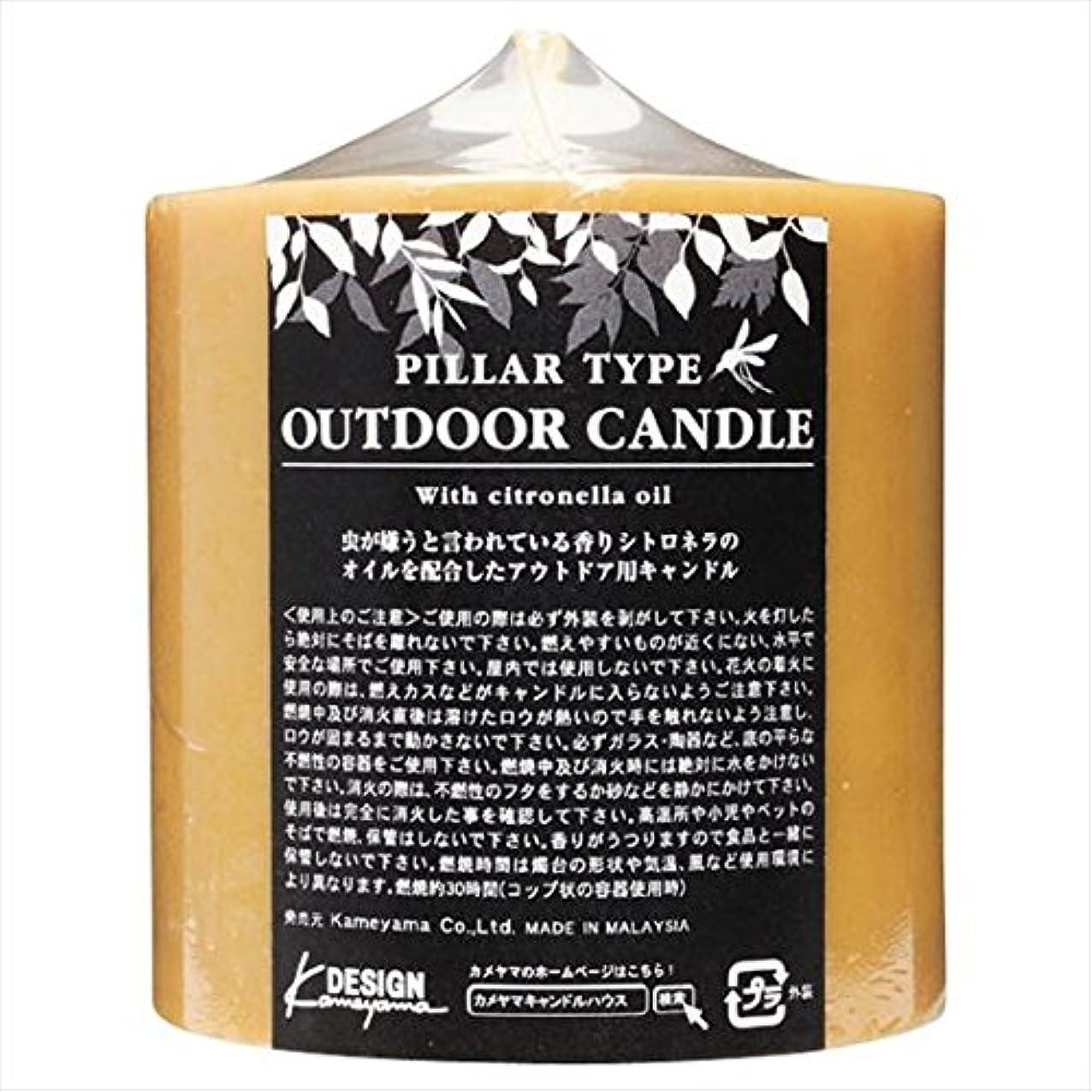 恐怖リラックス降伏カメヤマキャンドル( kameyama candle ) アウトドアキャンドルシトロネラ 714Z