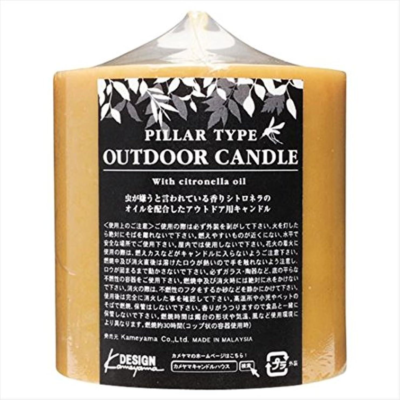 活力均等に十分ですカメヤマキャンドル( kameyama candle ) アウトドアキャンドルシトロネラ 714Z
