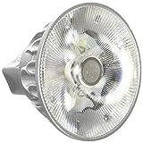 Bulbrite SM16-07-10D-927-03 SORAA 7.5W LED MR16 2700K VIVID3 10ツー Dimmable Light Bulb, Silver [並行輸入品]