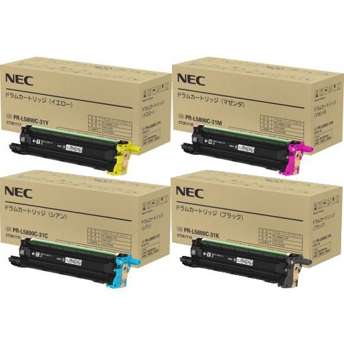 NEC ドラムカートリッジ PR-L5800C-31 KCM...