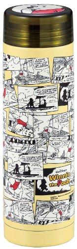 ディズニー スリムパーソナル ボトル 300 氷止め付き くまのプーさん イエロー/コミックアート MA-2081