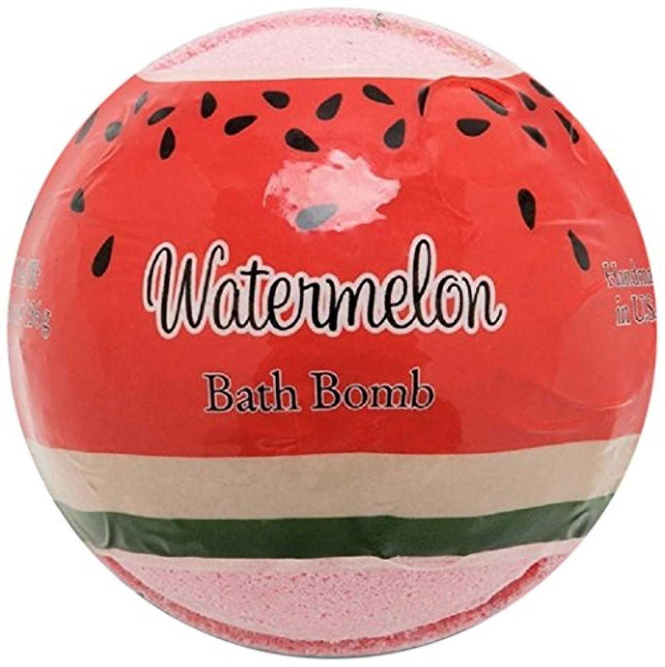 ボールスピーカートランジスタプライモールエレメンツ バスボム/ウォーターメロン 136g シアバターとココナツ&アルガンオイル配合のお肌に潤いを与える発泡性入浴剤