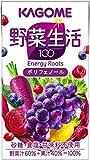 カゴメ 野菜生活100 エナジールーツ 125ml×24本