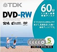 TDK 8cmDVD-RW 60分記録 超硬 ジュエルケース 5枚パック DRW60HCM5A