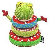 Deglingos  布おもちゃ ミニ・ピラミッド/カエルのクロアコス TYDL37213