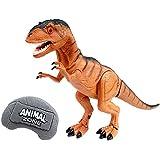 【 吠える!光る!大迫力! リアル 恐竜 ロボット ラジコン 】   赤外線 リモート コントロール メガザウルス IR T-Rex