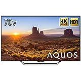 シャープ 70V型 液晶 テレビ AQUOS LC-70US4 4K   2017年モデル