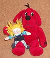 9 CLIFFORD THE BIG RED DOG AND 5 EMILY PLUSH DOLL by Clifford and Emily Elizabeth