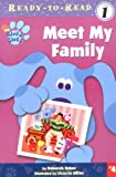 Meet My Family: Pre-level 1 (Blue's Clues Ready-to-Read)