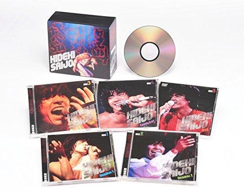 西城秀樹 絶叫・情熱・感激/西城 秀樹 CD4枚+DVD1枚