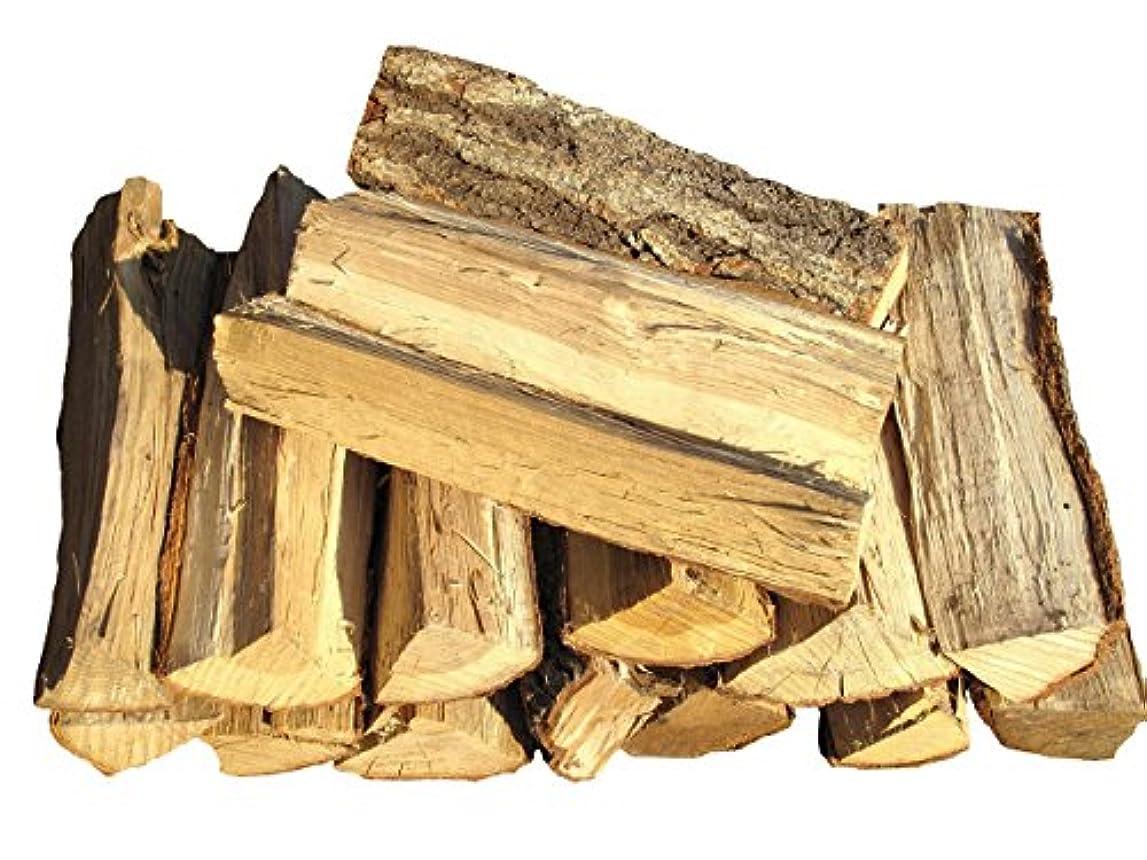 バストほとんどの場合状乾燥済 なら 薪 120サイズのダンボール箱入り 薪の長さ:30cm 重量:24kg以上【長野県産】