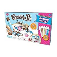 Candy Craft Chocolate Pen Exclusive Bonus Kit with 50 Moulds and Bonus 50% More Chocolate