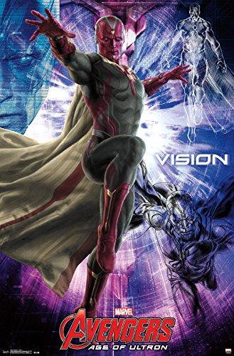 """トレンド国際Avengers 2Vision壁ポスター22.375"""" X 34"""""""