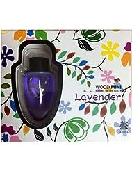 香りの女王と呼ばれるラベンダーはハーブの中でも一番の人気者!「カオルアロマウッドミニ(マグネット)」ラベンダーの香り