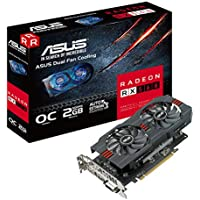 Asus Radeon 2GB OC Edition gddr5DP HDMI DVIグラフィックカードAMD ( rx560-o2g )