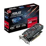 Best AMDのグラフィックカード - Asus Radeon 2GB OC Edition gddr5DP HDMI DVIグラフィックカードAMD Review