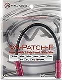 Vital Audio VA-Patch-F-0.3m CRANK 高品位新素材パッチケーブル