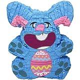ブルーEaster Bunny Pinata、パーティーゲーム、装飾、写真プロップfor Easter Sundayまたはベビーシャワー