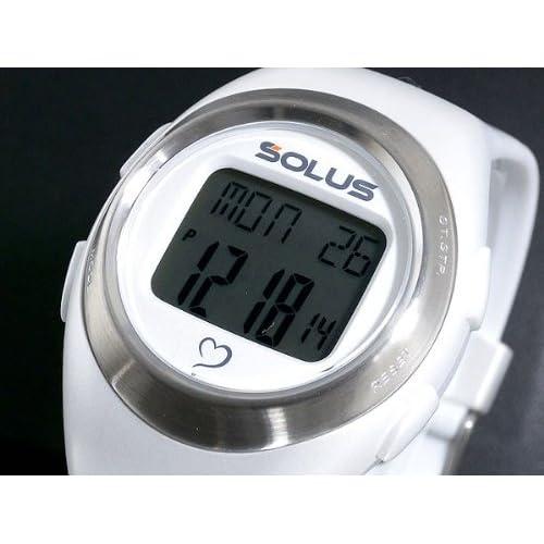ソーラス SOLUS 心拍計測機能付き デジタル 腕時計 01-800-04