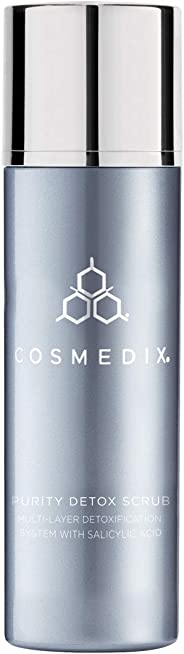 CosMedix Purity Detox Scrub for Unisex - 3 oz, 453.59 Grams