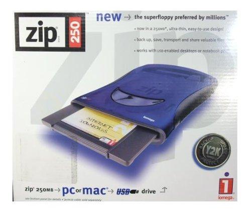 USB接続 外付け250MB ZIPドライブ iomega Z250USBP...