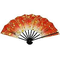 箔ちらし 舞扇子 29cm 匂い袋付オリジナルセット紙箱入 日本舞踊 海外土産 扇子 京扇子