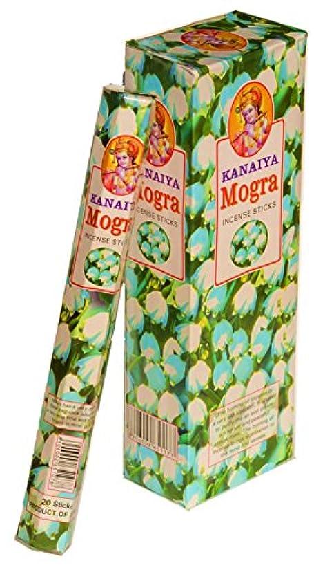 外科医市町村蜜Arabianジャスミンフラワー( Mogra ) Incense Sticksインドから – 120 Sticks – madeからNatural Scented Oil – Kanaiyaブランドby tikkalife