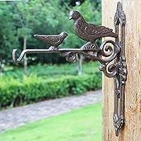 PLL ヨーロッパのスタイル鍛鉄Pothookの鳩の古典的なノスタルジックなスタイルの庭の壁掛けのモデリング