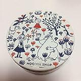 ムーミンショップ限定 缶入りスチームクリーム リトルミイ ミムラ ムーミンカフェ 全身用保湿クリーム