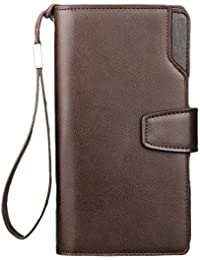 Linyuan 安定した品質 Mens PU Leather Wallet with Credit Card Holder,Purse G1603