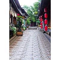 FidgetGear 写真の背景中国の古代スタイルの壁写真の背景スタジオ小道具 17.ヤードトレイル