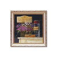 飾りやすいミニサイズ。 ユーパワー ミニゲル アートフレーム アンジェラ スターリング 「ジャルダン ドゥ アンティーク」 AS-02035 〈簡易梱包