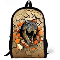 Cool School Bags for Boy Dinosaur Anime Water-Resistant Fashion Backpack