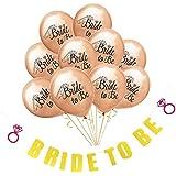 FLAMEER 結婚式 独身パーティー 装飾セット バナー バルーン 風船 記念日 4タイプ選べ - #2