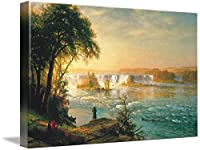 "壁アート印刷entitled Albert Bierstadt – The FallsのSt Anthony by天体イメージ 10"" x 6"" 6078150_1_can"