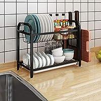 キッチンの排水ディッシュラック食器ストレージがストレージボックスナイフホルダー調味料ラックラック (Size : B)