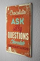 ブリキ看板 Tin Sign Retro Chocolate