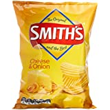 Smith's Crinkle Cut Cheese and Onion Chips, 12 x 170 Grams