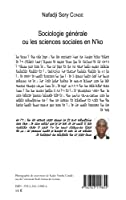 Sociologie générale ou les sciences sociales en N'ko