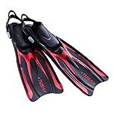 TUSA SF0101 Hyflex Vesna Fins (Medium Red) [並行輸入品]