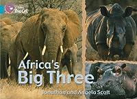 Africa's Big Three: Ban/07 Turquoise (Collins Big Cat)