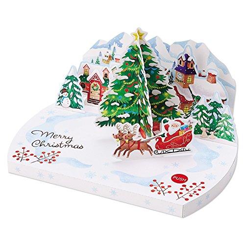 サンリオ クリスマスカード 洋風 メロディ モーター ツリー...