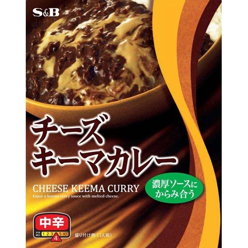 チーズキーマカレー 中辛 157g フード カレー カレーレトルト [並行輸入品]