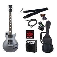 PhotoGenic エレキギター 初心者入門ライトセット レスポールタイプ LP-260/SV シルバー