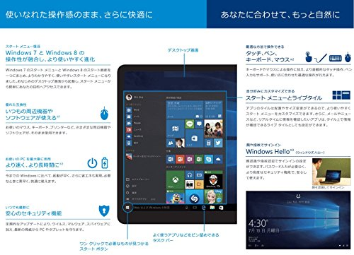 Microsoft Windows 10 Home April 2018 Update適用 32bit/64bit 日本語版【最新】|オンラインコード版